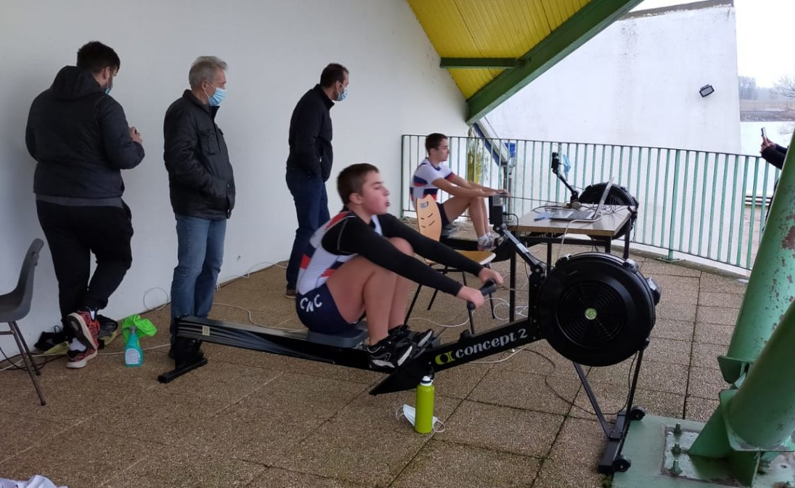 Championnats de France 2021 « MAIF Aviron Indoor » 100% connecté